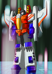 Starscream (Seeds of Deception) by masarujasu