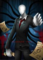 Slender Man by DeluCat