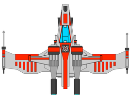 Republic Star Fighter by JediArtisan