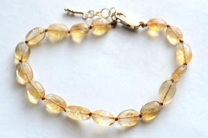 Citrine Bracelet by lamorth-the-seeker
