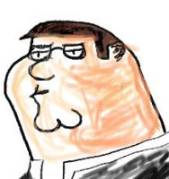 Peter Griffin by Sphynxxie