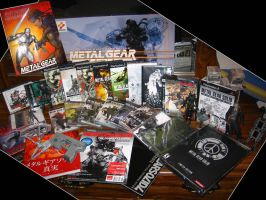 Metal Gear Solid Collection by koukis14
