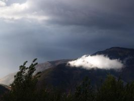 Mountain Storm by RLDStock