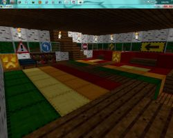 My Minecraft room by EnclosedOne