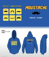 8-Bit Design Challenge - Choose Your Moustache by mantarosan