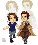 Chibi #12 and #13 by PaolaPieretti