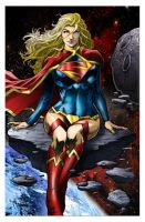 Supergirl Update by MARCIOABREU7