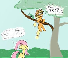 Who's A Silly Filly by abzde