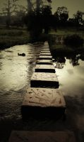 Stepping Stones by EyeForPhotography