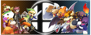 SSB4: When Worlds Collide by Dragonith