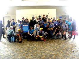 Otakon 2011 - Team Fortress 05 by mugiwaraJM