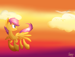 MLP-One day,I'll fly higher just like her by yaaaco