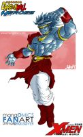 Colossus-Broly by TetraGyom