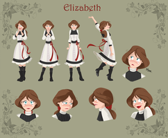 Commission - Elizabeth Character Sheet by Tokio92