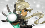 Snowball Fight!!! by HatterRose