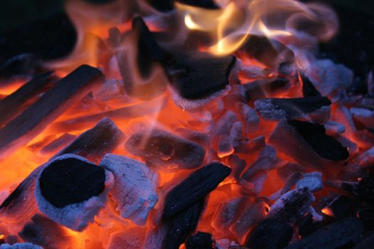 Burning Ash 16568025 by StockProject1