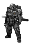 ro-bot soldier by kimplate