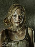 The Walking Dead: Beth: HDR Re-Edit by nerdboy69