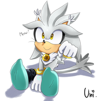 Silver the Meow-Hog(?) by Unichrome-uni