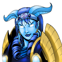 Kizuru warrior draenei by Luzerrante