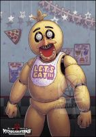 Chica The Chicken by PsychoSlaughterman