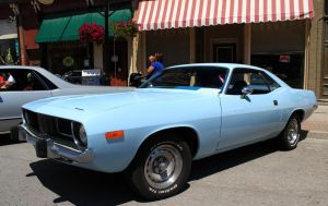 73 Cuda by boogster11