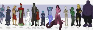 Project Human - Line up by AlbinoNial
