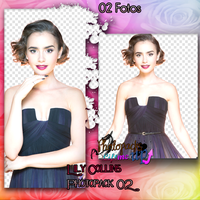 Photopack 02 PNG Lily Collins by PhotopacksLiftMeUp