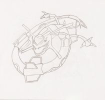 My Sketches -Rayquaza- by ThePokemonTrainer