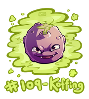 109 - Koffing by Electrical-Socket