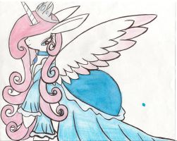 me in my dress by Ponyness1