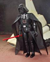 Darth Vader with removable helmet by mousedroid-hoojib