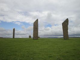 Standing Stones Of Steness I by Askya
