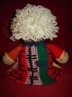 6th Doctor - Back View by Ginger-PolitiCat