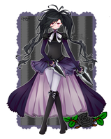 [PC] Black Rose by fae-chii