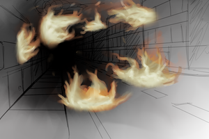 City of flames by CleverConflict