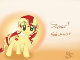 Sunset Shimmer by baimon2000
