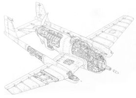 Sparrow mk.I heavy attack plane by PenUser