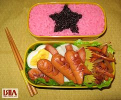 My first Bento by iria2k