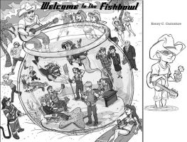 Welcome to the Fishbowl_ Album cover comp. by tombancroft