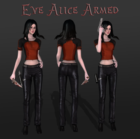 Eve Alice Armed, Release by tombraider4ever