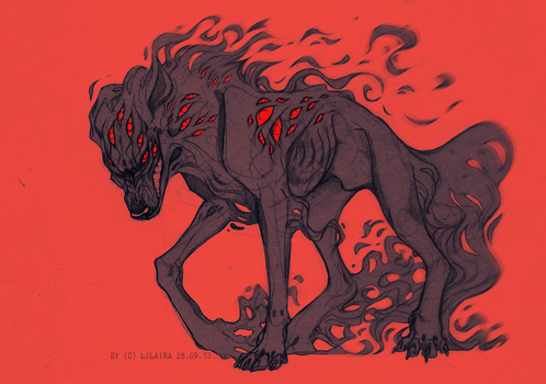 Red eyes by LiLaiRa