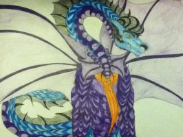 dragon flabber. by Wolf-Angel-whitewing