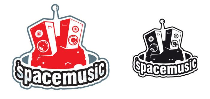 SPACE MUSIC LOGO FINAL by R7design