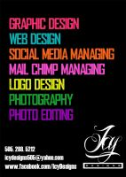 Icy Designs Services Business Card by IcyDesigns505