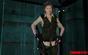 Rebecca Chambers Resident Evil 7 Concept by CharonA101