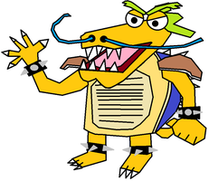 Tah Poxor the Dragon Turtle by TeamFaustGames