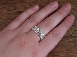 Fine Silver Ring by Kithplana