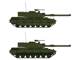 M-2 Stalker MBT by gool5000