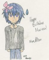 Ikuto for chibiciel517's b-day by InuKid